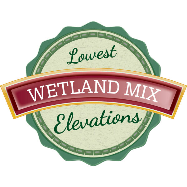Wetland Mix for Lowest Elevations